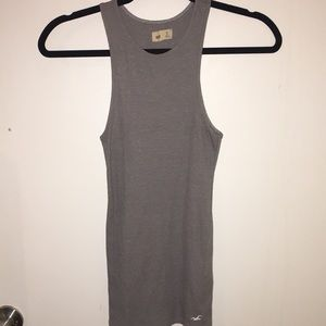Hollister gray tank